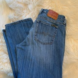 Luck Brand Crop Jeans Size 29/8